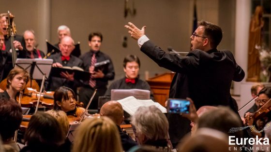 A eureka moment for classical music community eureka ensemble eureka ensemble and conductor kristo kondaki performing handels messiah in boston dec 2017 solutioingenieria Image collections