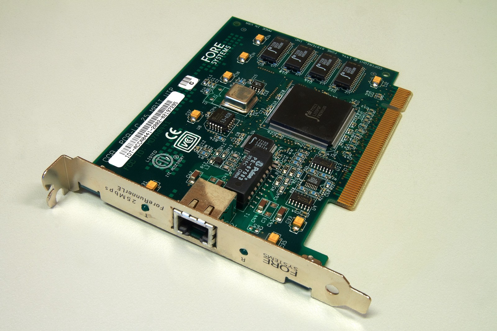 Figure Network Card With RJ 45