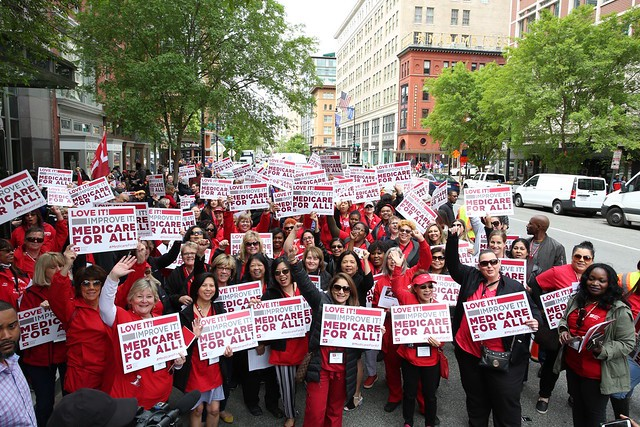 Nurses rally for Medicare for All