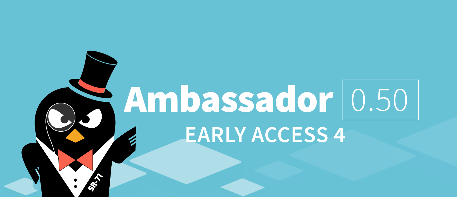 Ambassador 0 50 EA 4 is available, supporting rate limiting and