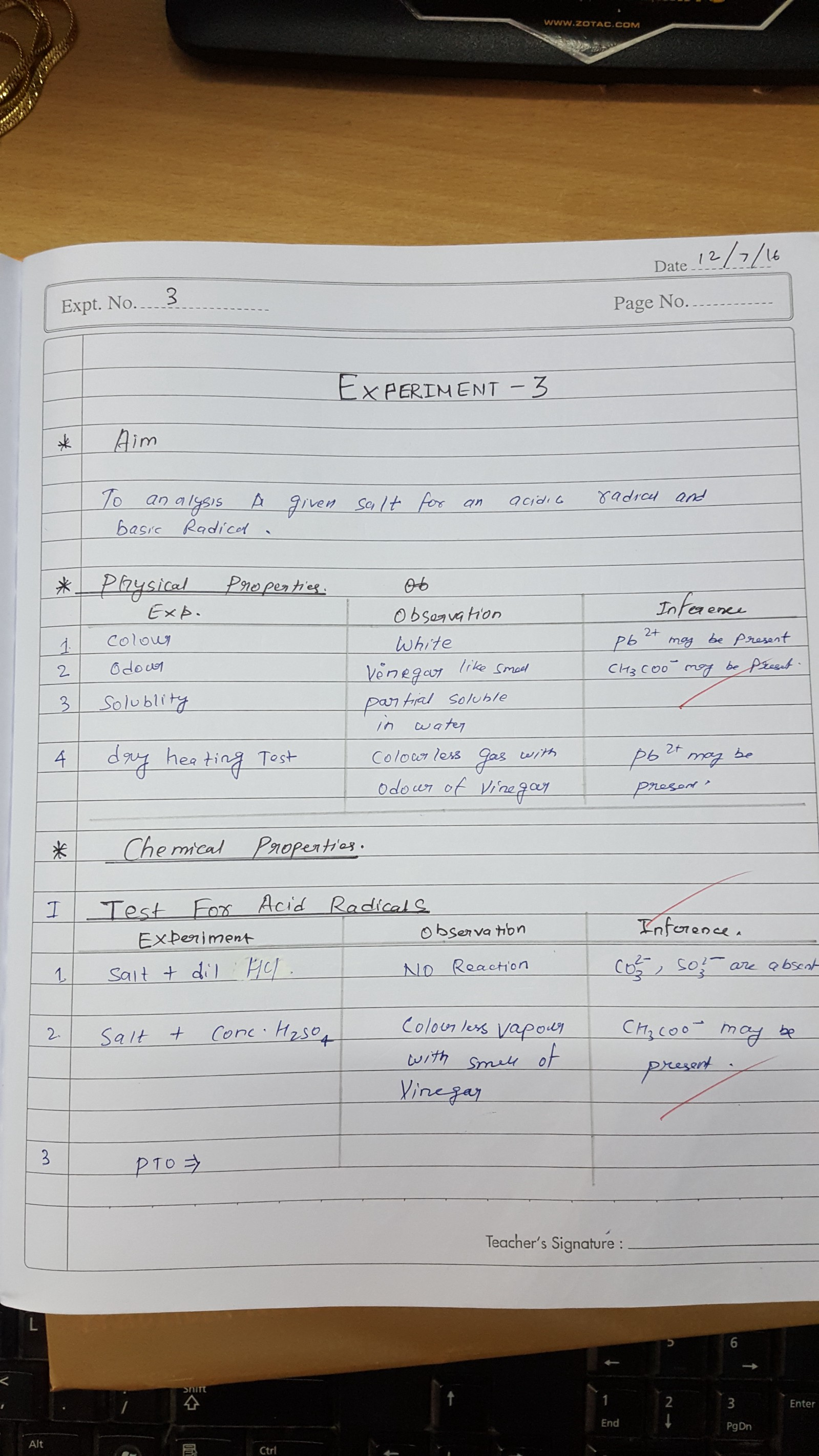 Chemistry Lab Manual Class 12 Pdf