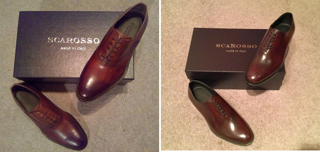 246799fd521 Hand-finished Marco Constango Chestnut calf (left) and Ludovico Bordeaux  wholecut (right) reviews are coming soon.