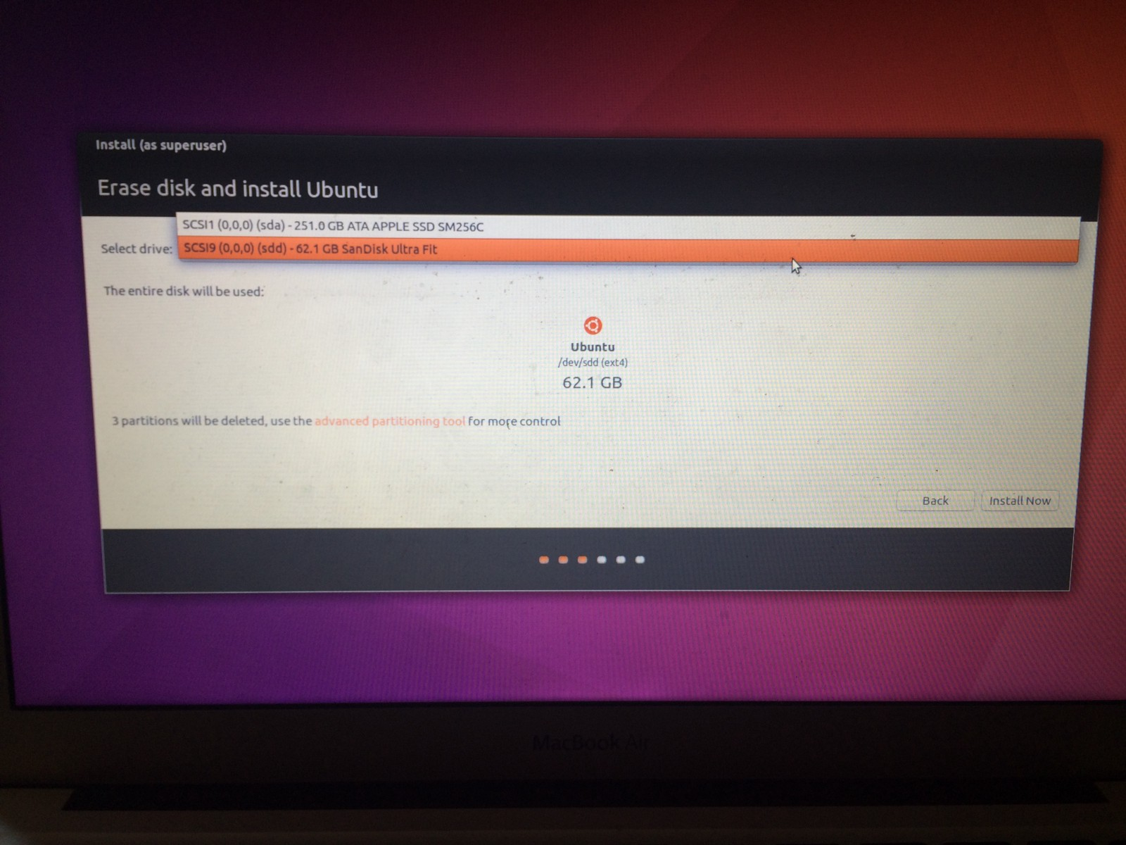 install ubuntu on mac alongside os x