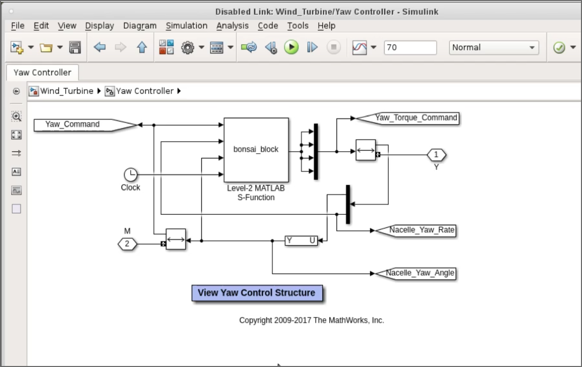 Bonsai Ai Using Simulink For Deep Reinforcement Learning Level 2 Block Diagram Control Inserted In Matlab Model