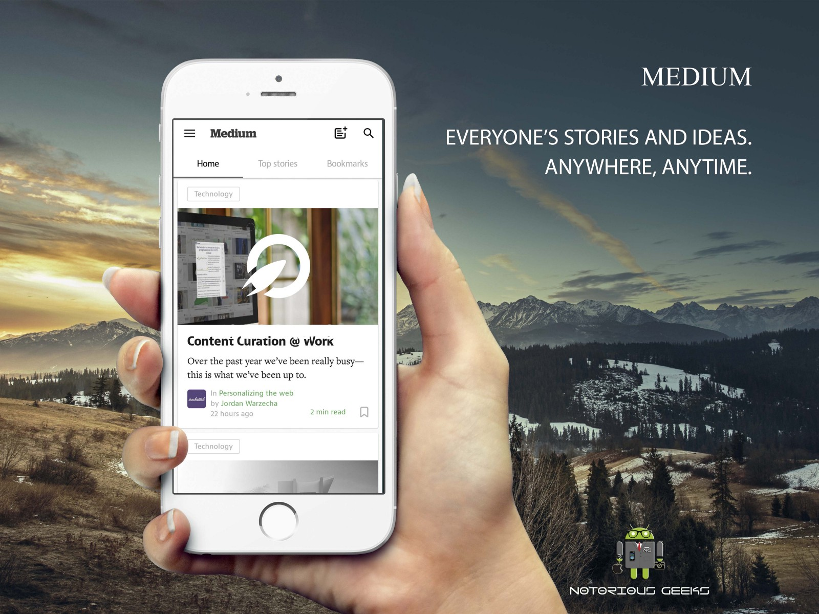 Medium A Simple Editor To Publish Your Ideas Blogs On The Go It Comes With Set Of Features Adding Images Links In Pleasing Interface