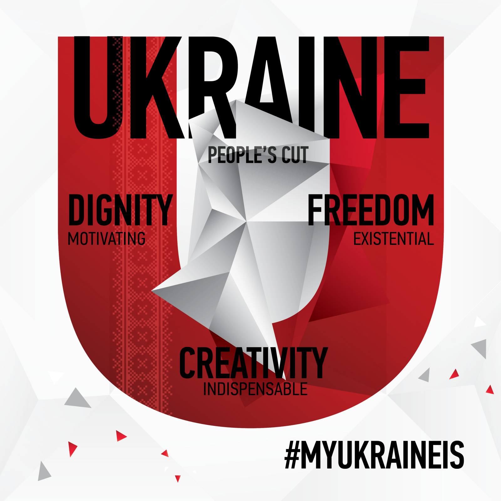 Ukrainian Foreign Ministry Launched International Online Campaign #MyUkraineIs