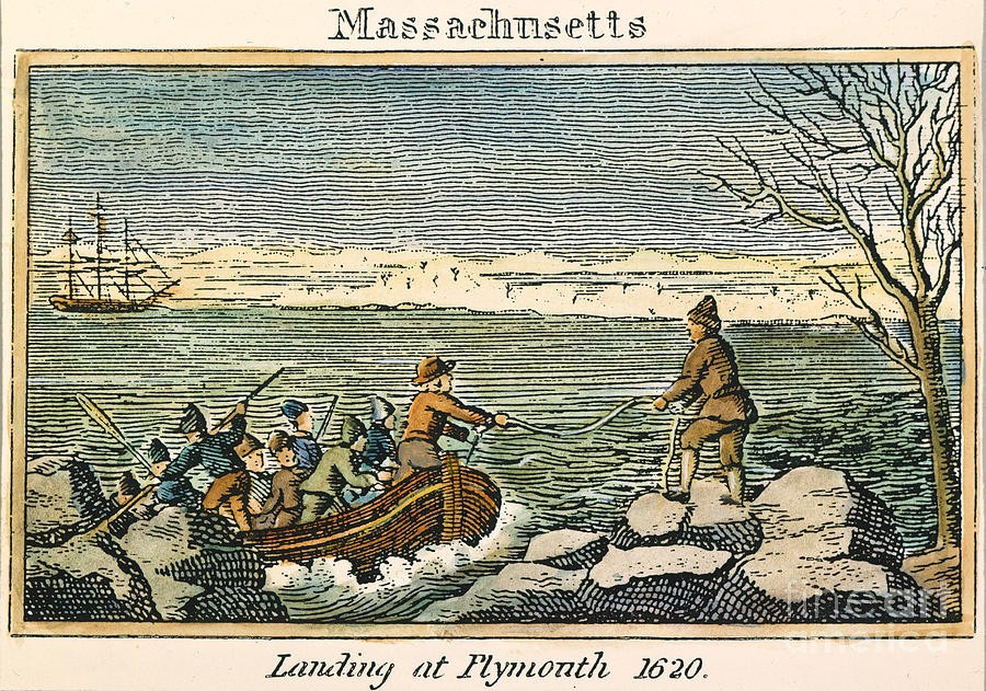 Otd In History December 18 1620 The Mayflower Docks At Plymouth