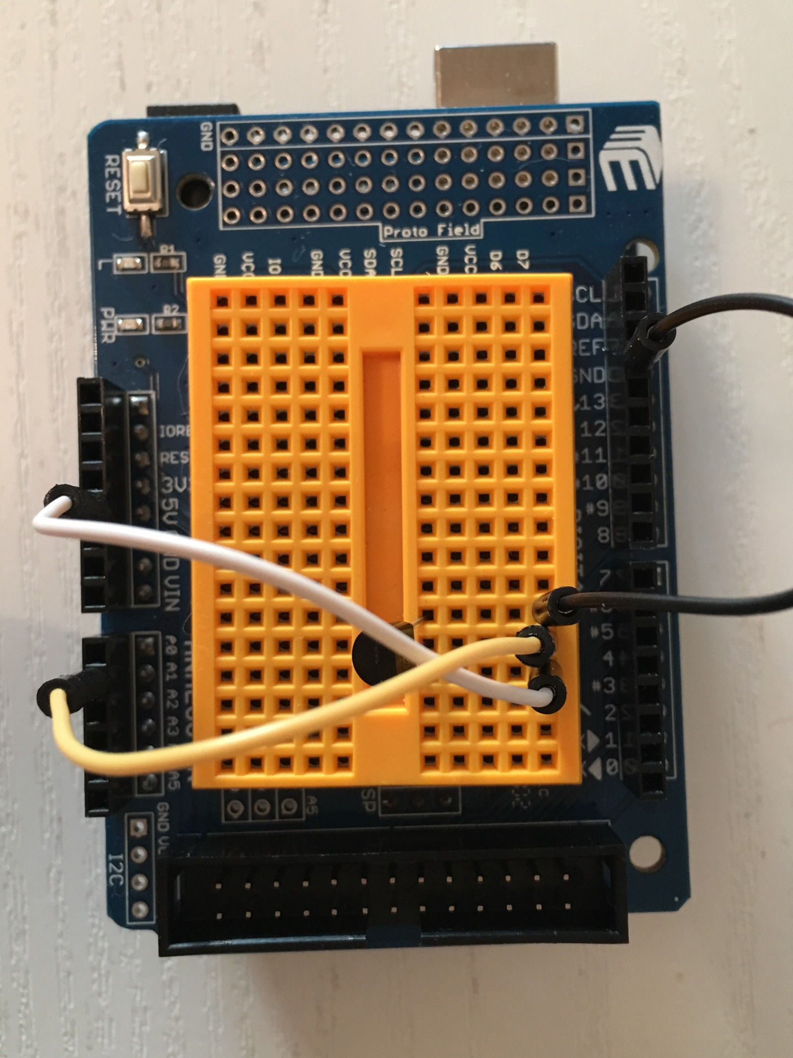 Learning Electronics With Home Automation The Thermometer Pic Microcontroller Primer Tutorial 1 All Done