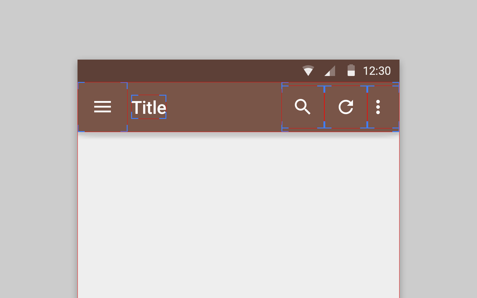 How To Make Android Toolbar Follow Material Design Guidelines