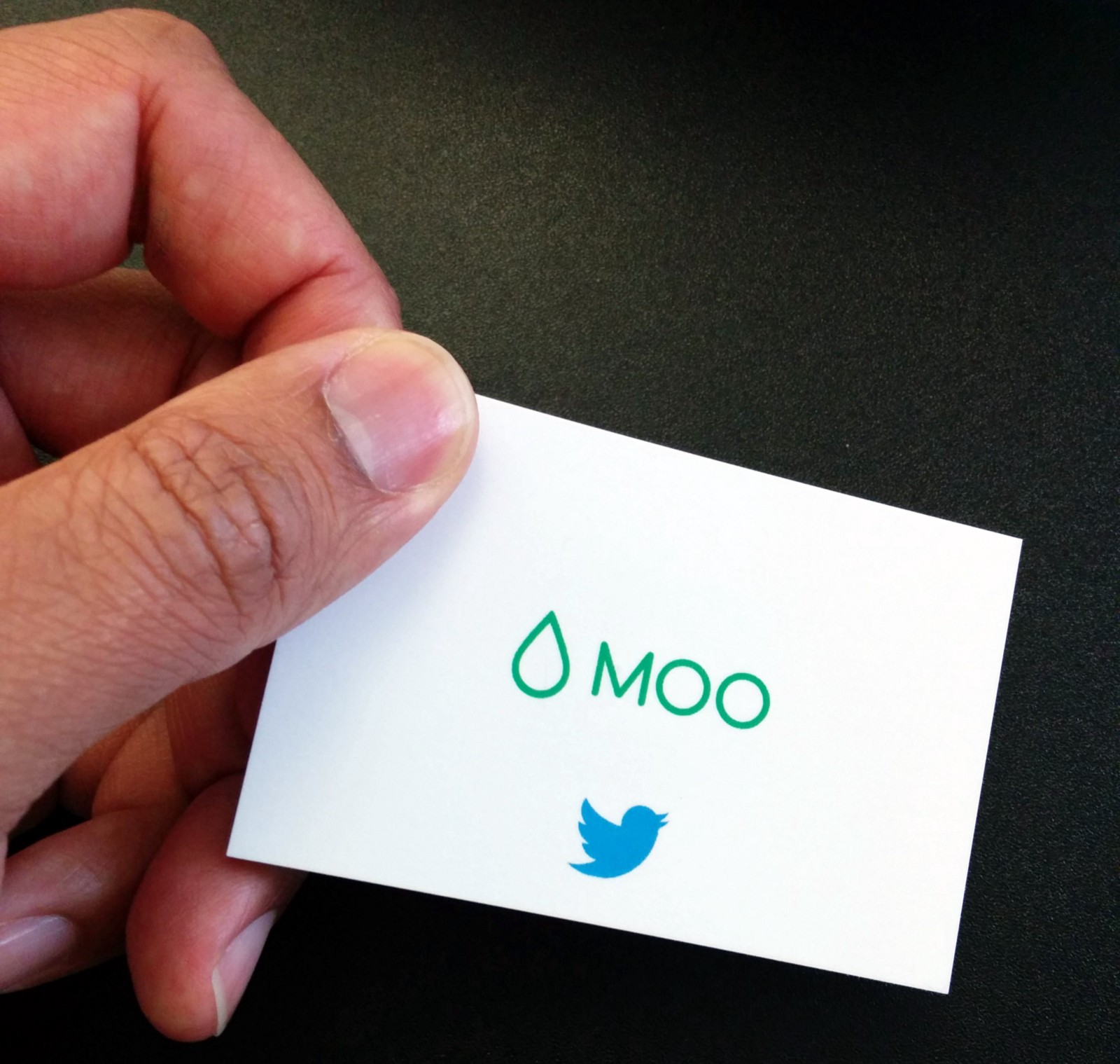 How to Tweet with a Business Card – MOO Paper+ – Medium