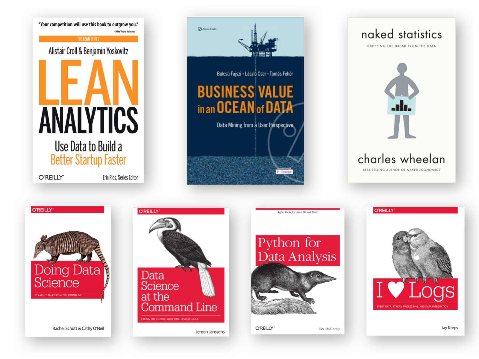 Aspiring Data Scientists! Learn the basics with these 7 books!
