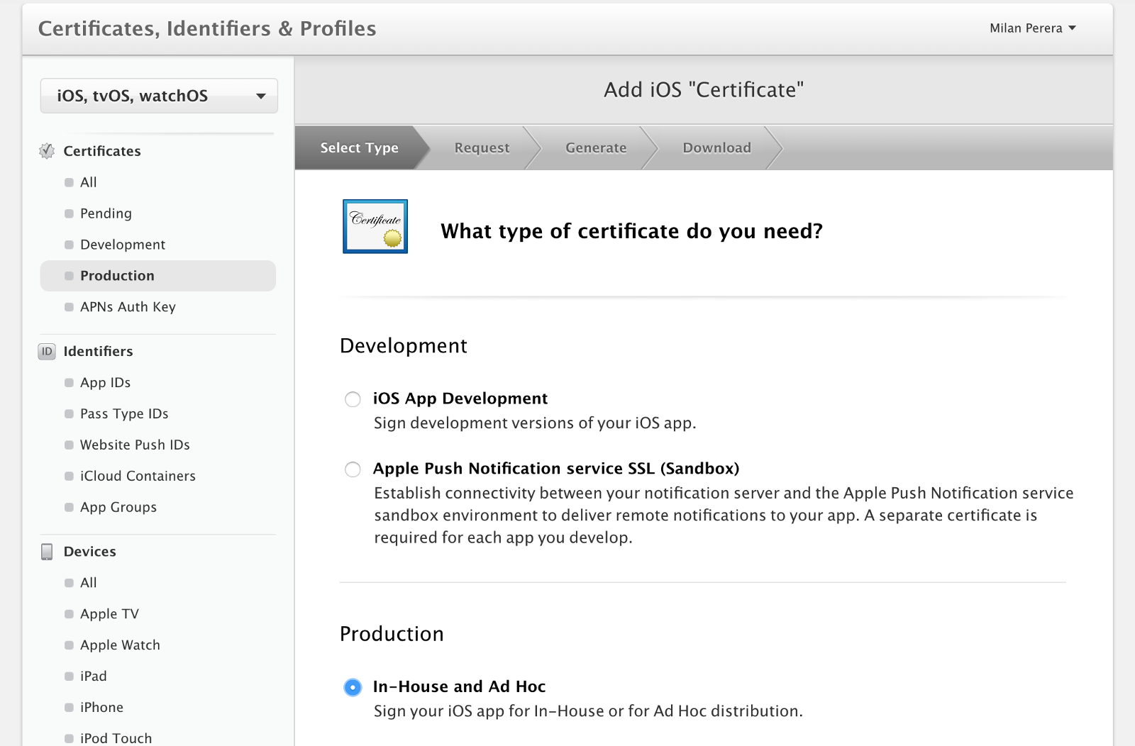 How To Export In House Developed Ios App As An Enterprise Application