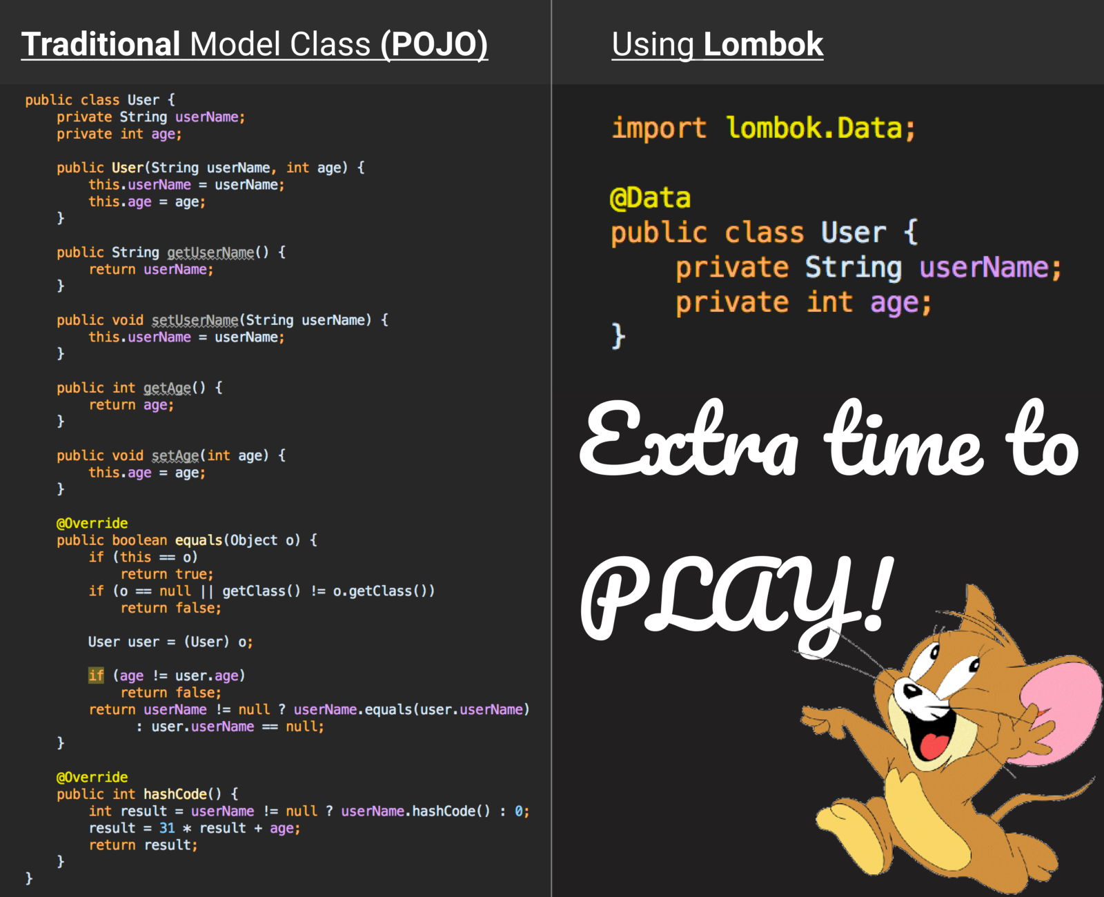 pojo class in android