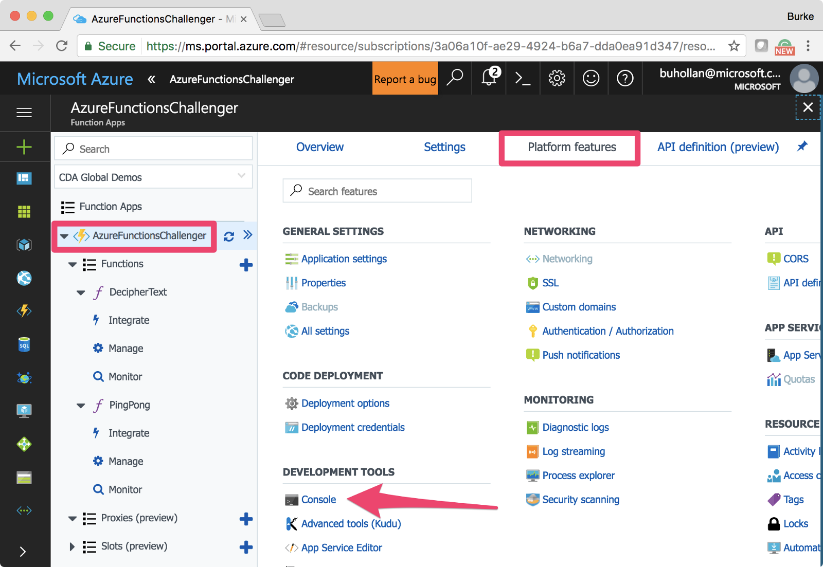 Solving The Azure Functions Challenge With Javascript