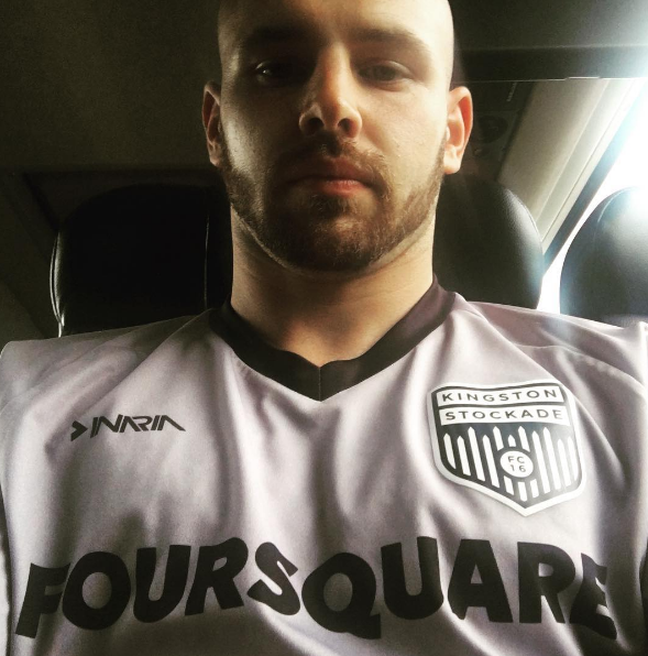 192f8f0d8 Aldo Tropeano rocking the Foursquare kit — via  https   www.instagram.com p BGNSKHXy4DC  taken-by aldotropeano