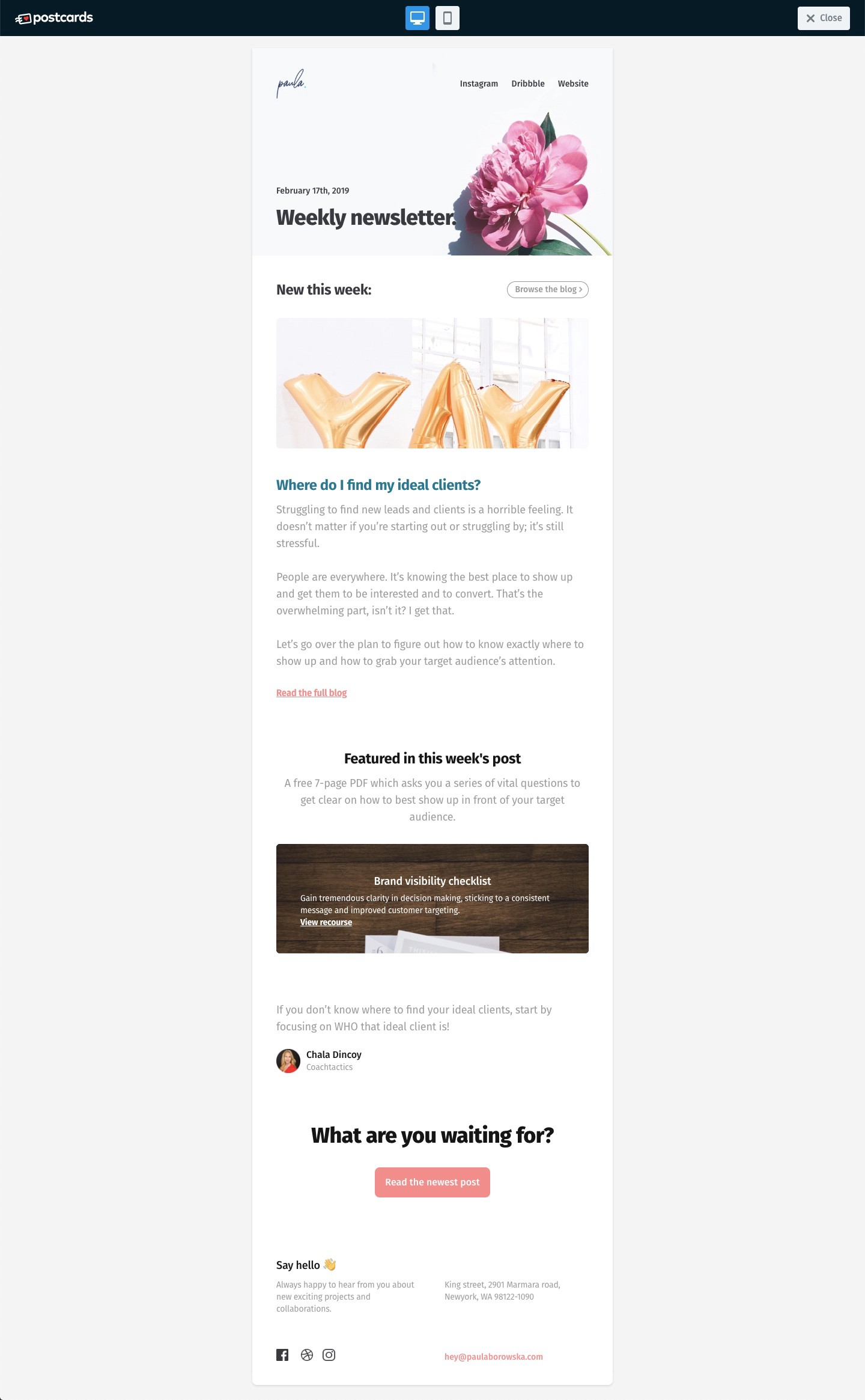How To Create Responsive Html Email Templates Andrew Laurentiu