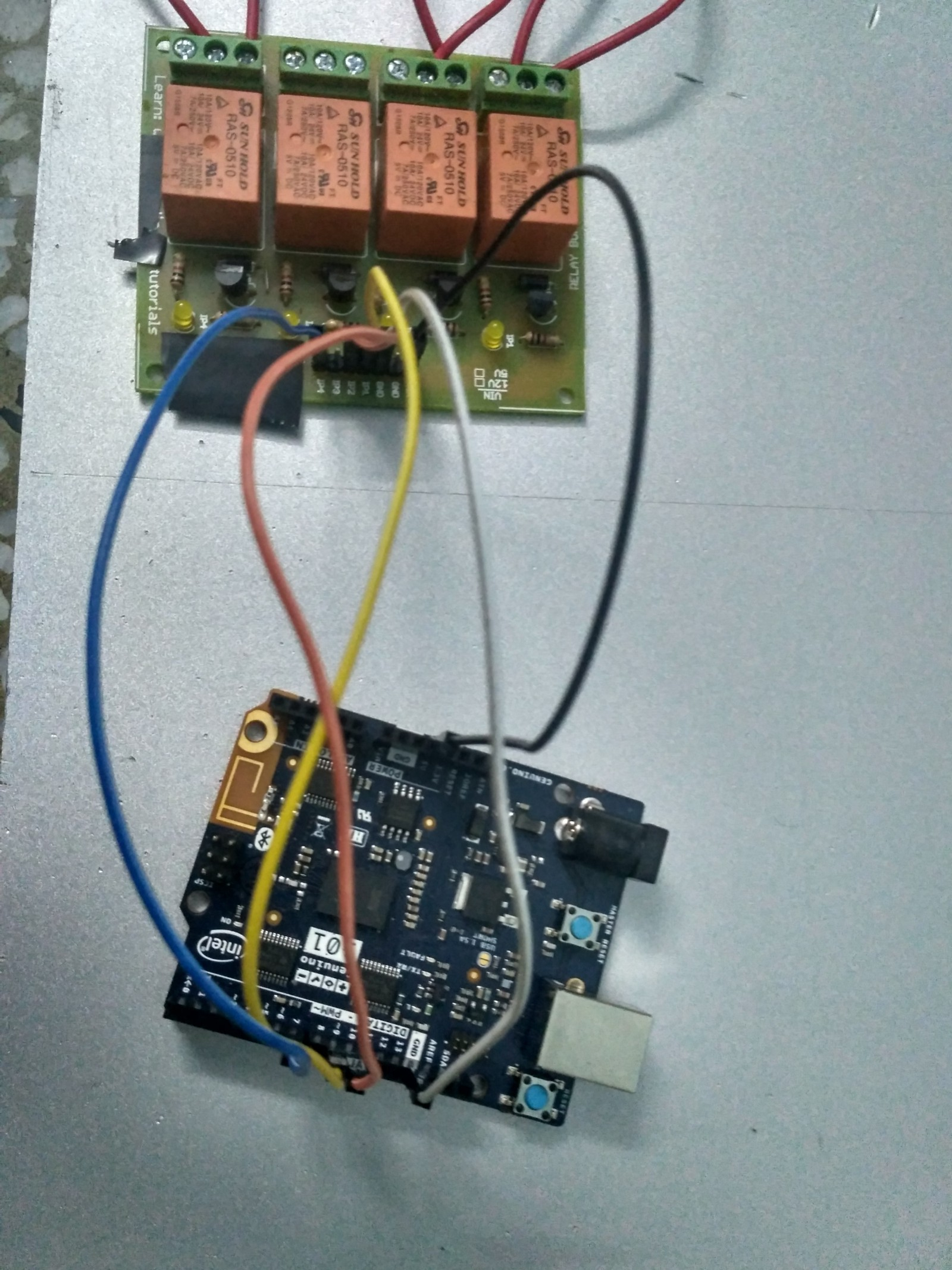 Lets Make Home Automation Easy Naveen Manwani Medium Topic How To Control Very Really High Currents With Arduino Since The Operates At 5v It Cant These Higher Voltage Devices Directly But You Can Use A Relay Switch 120240v Current And