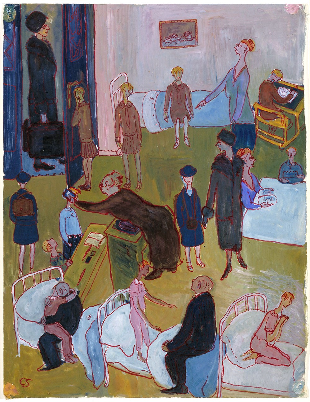 charlotte salomon�s paintings highlight the life�not the