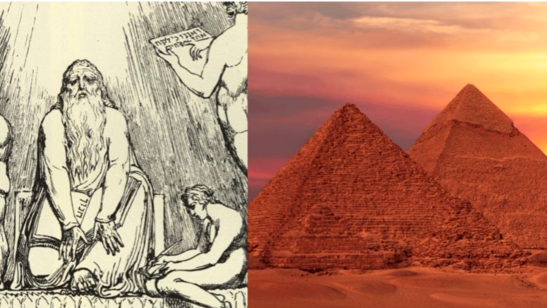 Aliens In The Book Of Enoch Tells Another Tale Of The Pyramids!