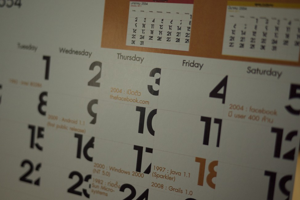 How events (and a calendar app) can be the most powerful PR and marketing weapons