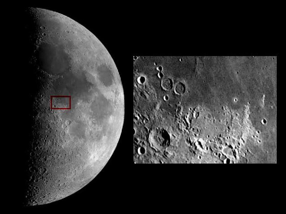 how to see all six apollo moon landing sites sky amp telescope - 958×717