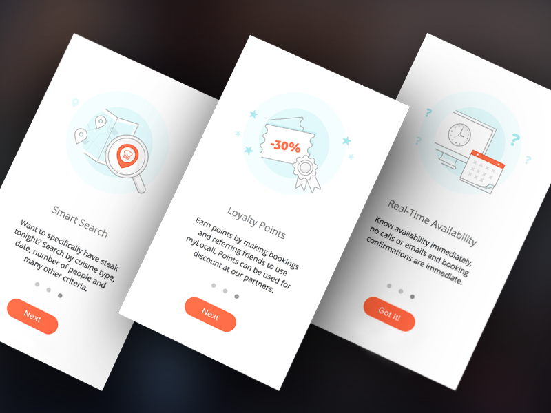 Examples Of Onboarding Design In Mobile Apps Inspiration