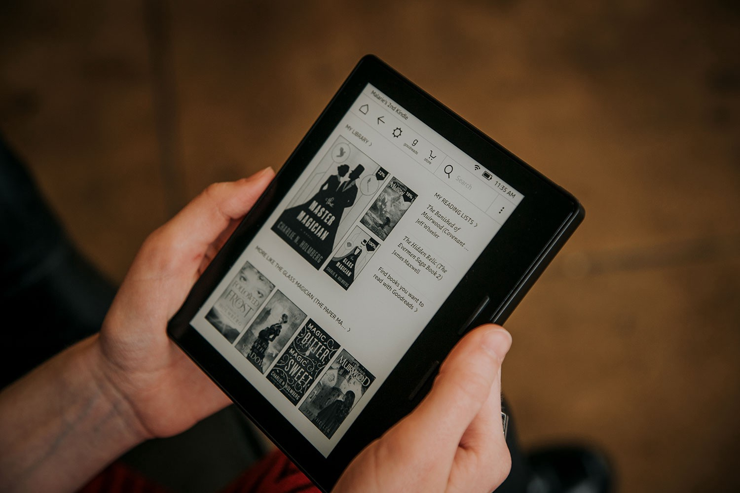 How to share data from your Kindle tablet through Amazon Kindle account?