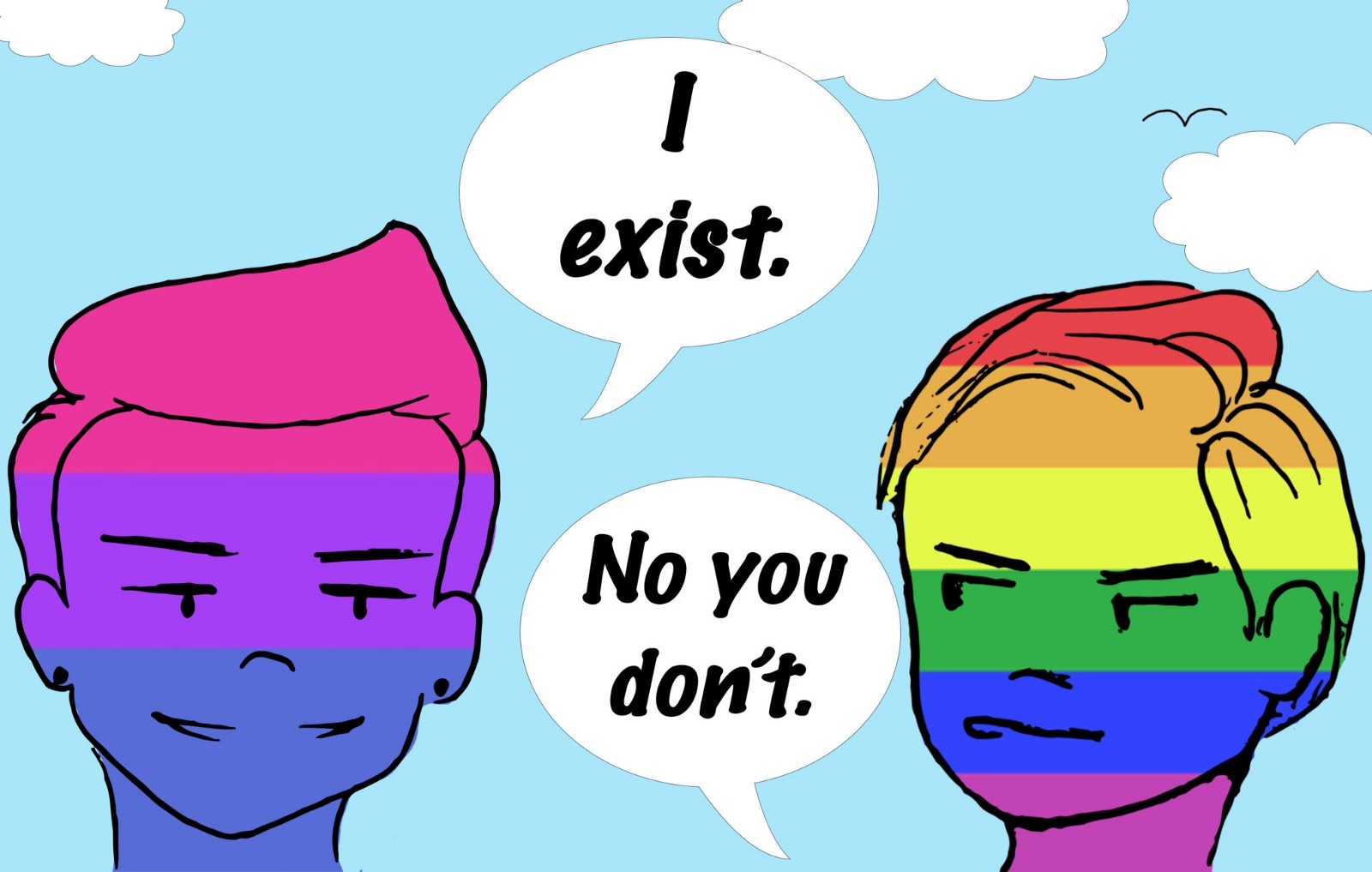 Bisexual people dont exist