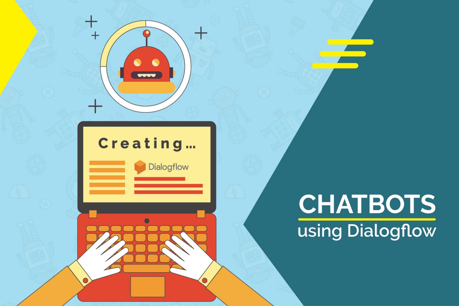 how to create a intelligent chatbot using python