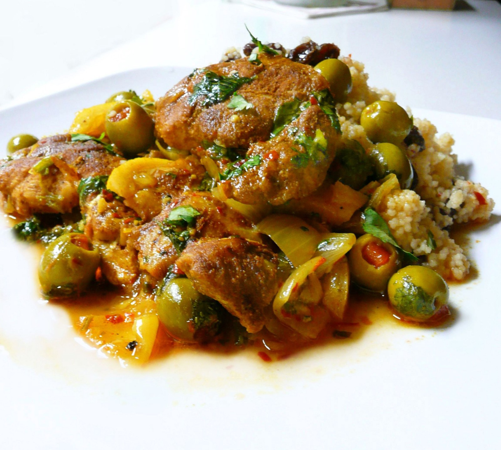 Recipes from around the world moroccan chicken tagine forumfinder
