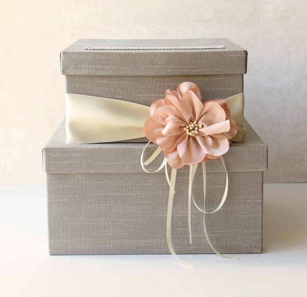 Alluring Wedding Gift Card Box Ideas For Your Wedding
