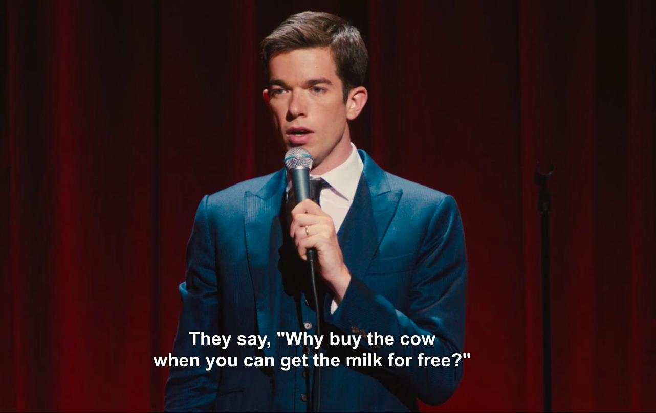 Why Buy The Cow John Mulaney On The Pressures Of Proposal