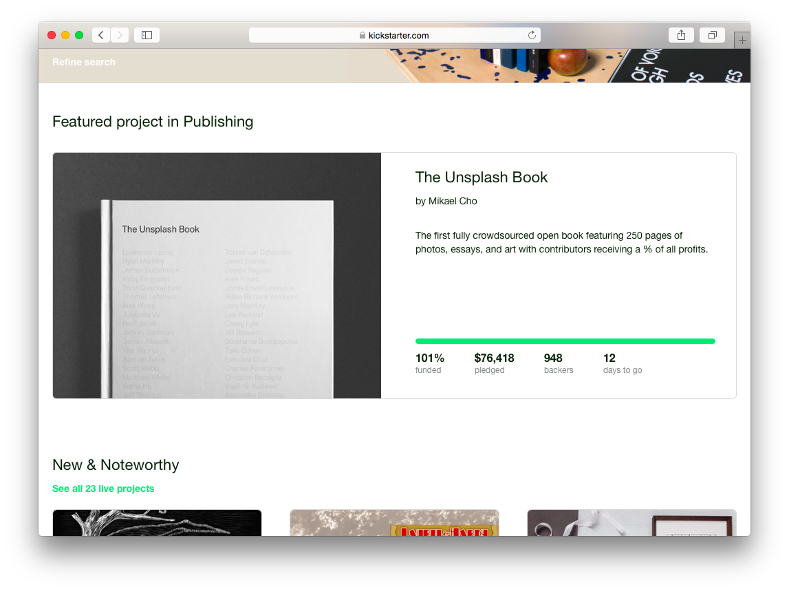 Resources required to make a great kickstarter campaign