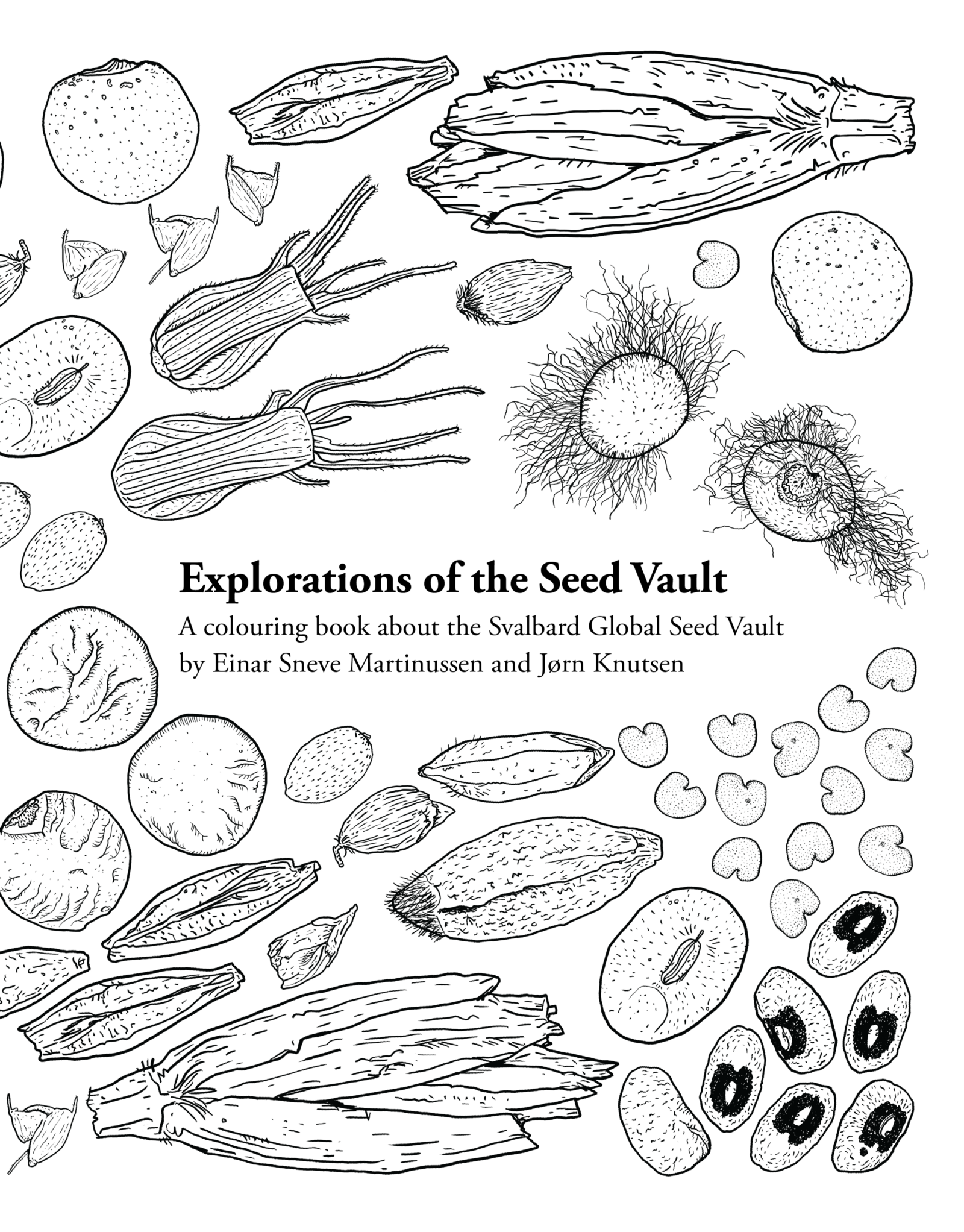seed vault colouring book u2013 explorations of the seed vault u2013 medium