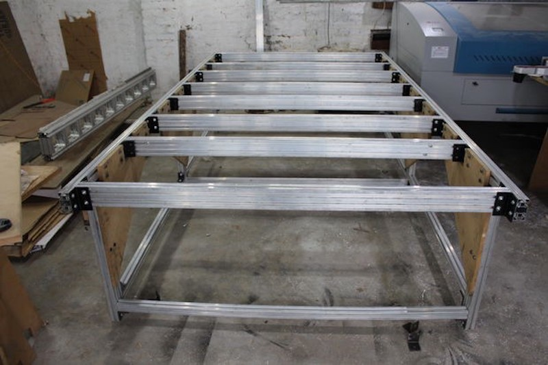 Build Your Own 5 X10 Cnc Router From The Frame Up