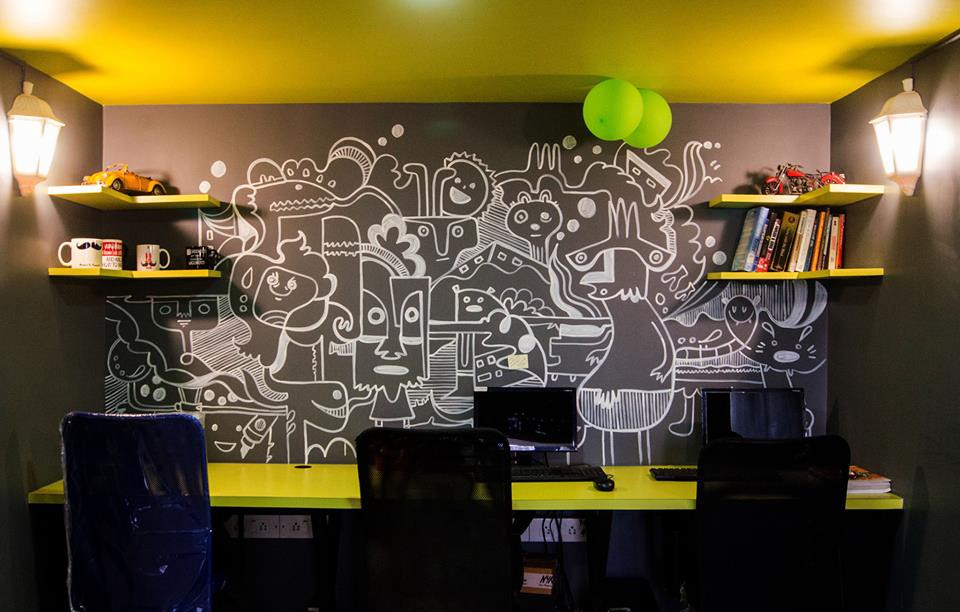 Creative Office Walls Graphic Designing Theyre Pieces Of Art That Depict Creativity And Message Graffiti On Office Walls Are Another Huge Trend In Office Design Medium 10 Brilliant Ideas To Design Creative Office Space In Budget