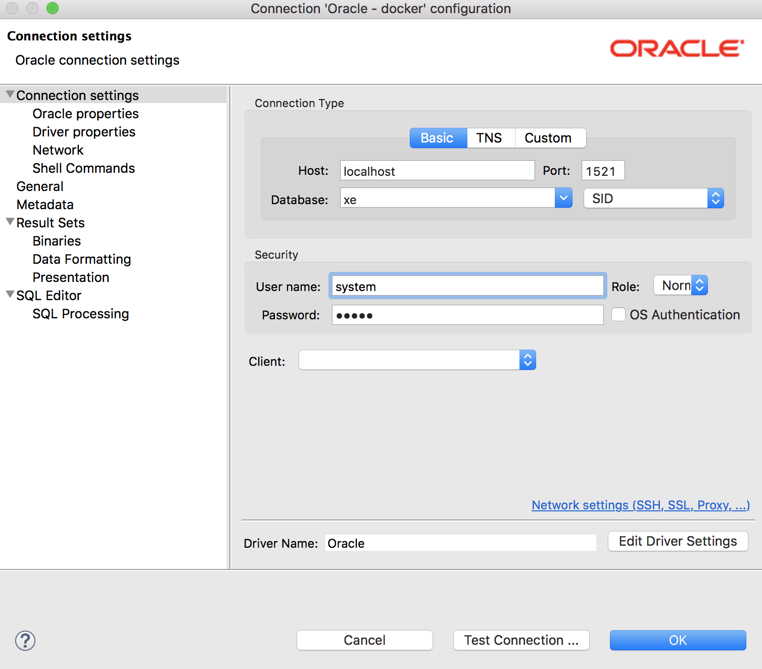 How to install oracle database via docker in mac and connect with how to connect php to oracle in a docker container how about the oracle driver for mac here how lucky i found this tutorial httpsgistthubgido baditri Gallery