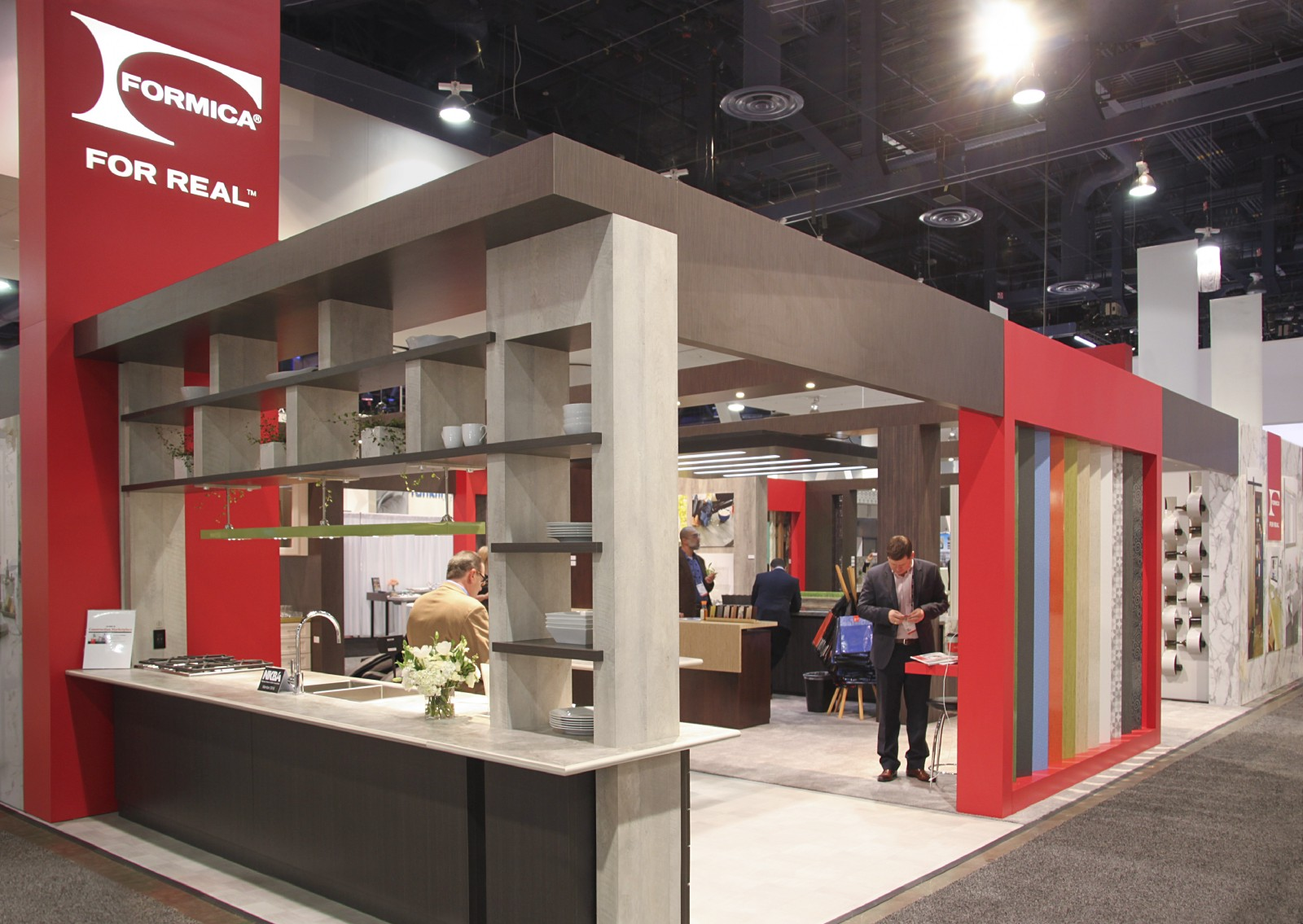 To Kick Off 2016 In Style, We Made The Trip To Las Vegas To See Our Exhibit  Design For Formica In Action At The Kitchen And Bath Industry Show: