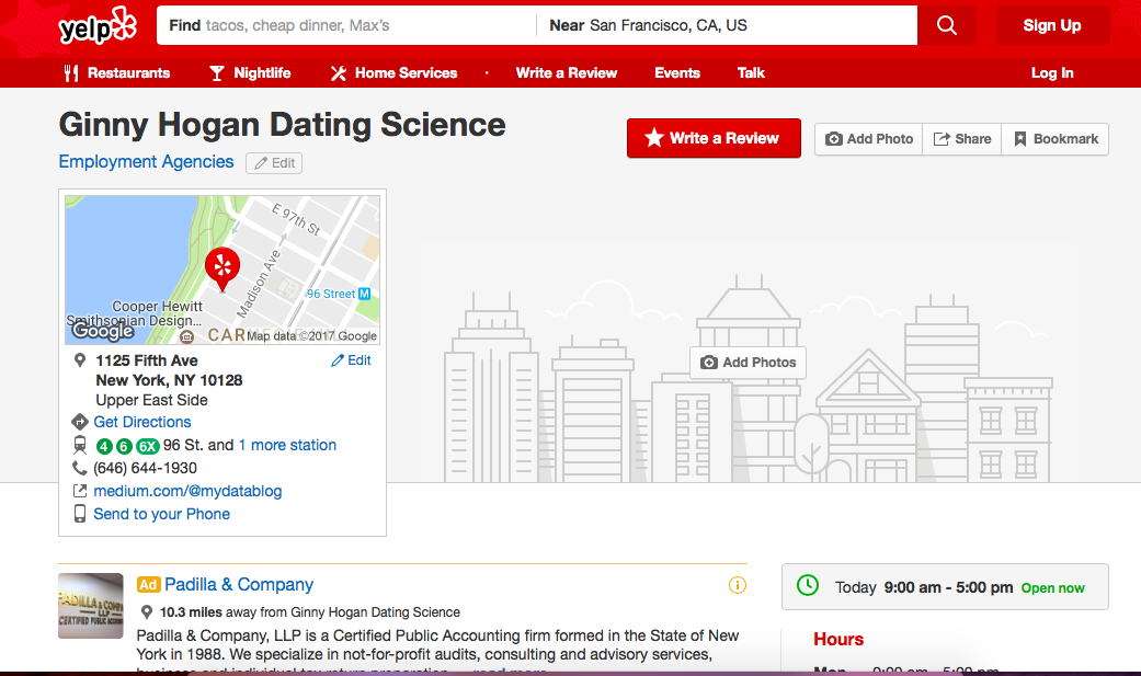 dating directions reviews