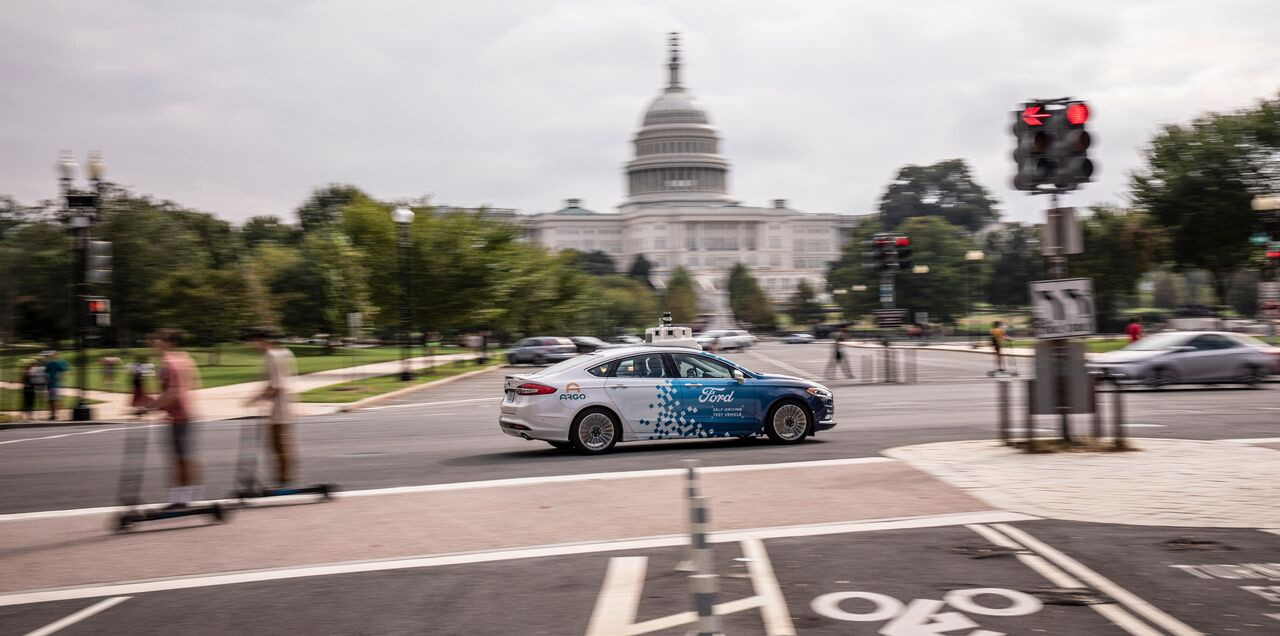 véhicules autonomes à Washington