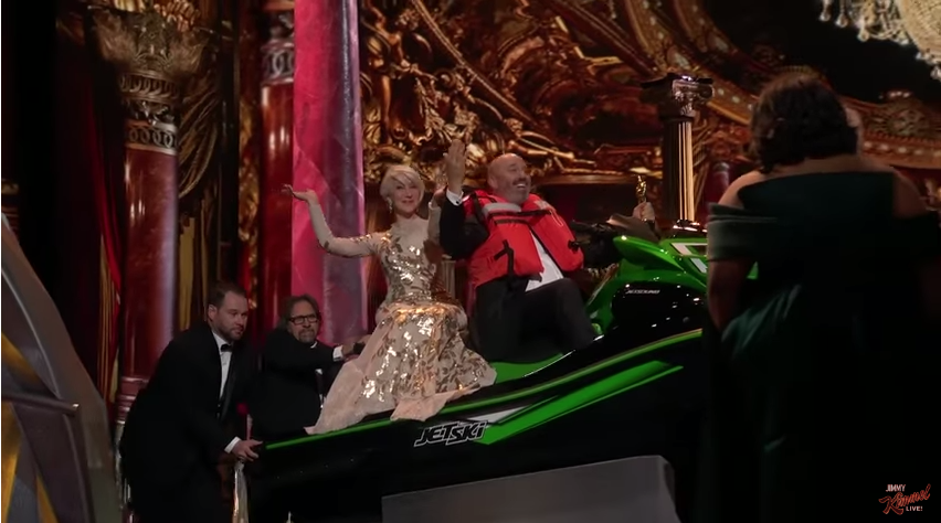 Shortest Oscars speech wins jet ski (Helen Mirren not included)