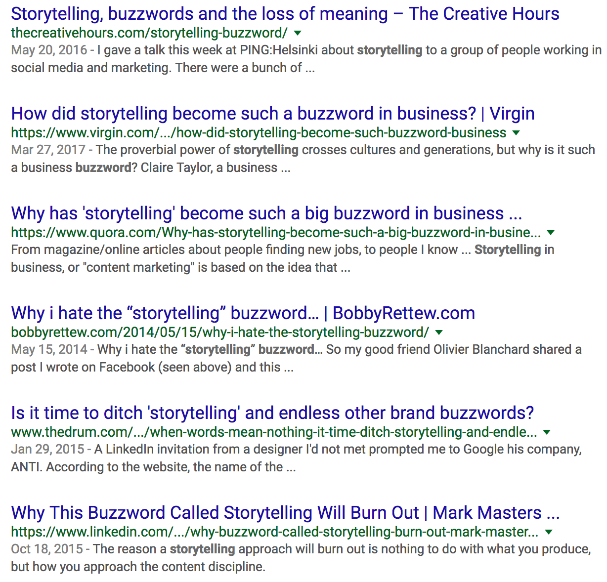 Storytelling Is Not a Buzzword – Marketing And Growth Hacking
