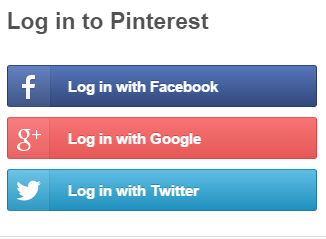 Designing ux login form and process ux planet pinterest provides login option via social network account stopboris