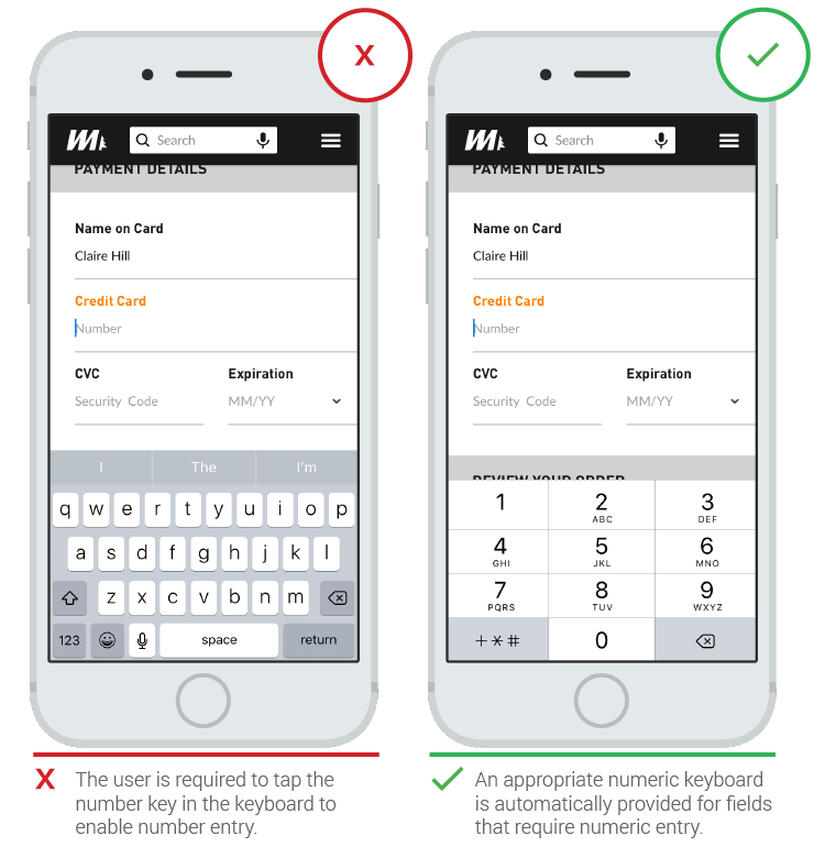 Text Fields In Mobile App Ux Planet