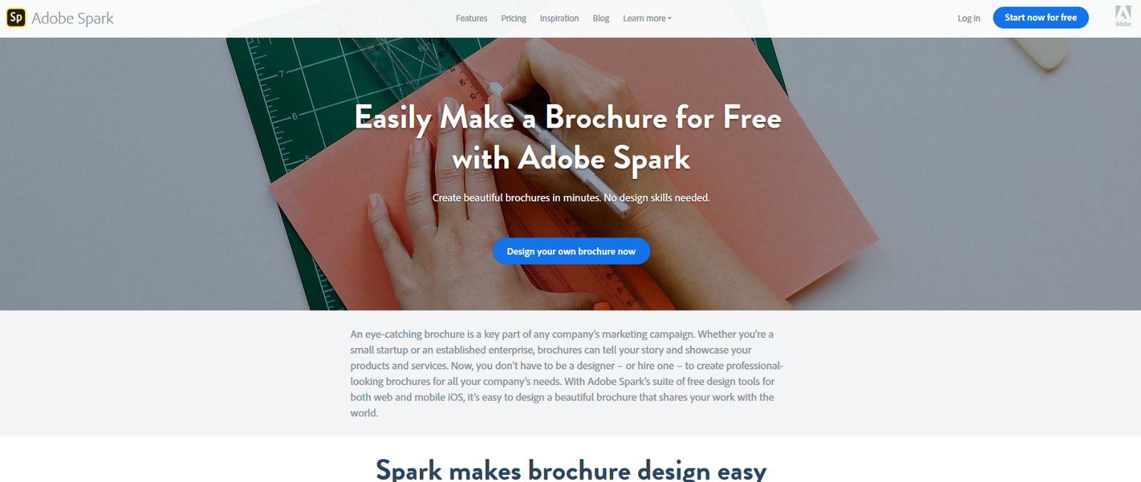 make a brochure online free super easy with this 1 software
