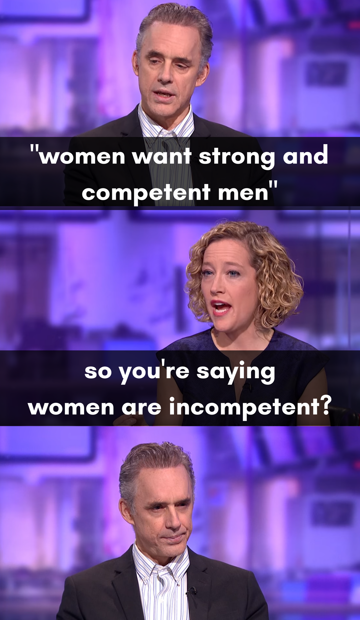 1*l3TW5HAb0pRtSsV8VqjZXg 25 memes that sum up jordan peterson vs cathy newman