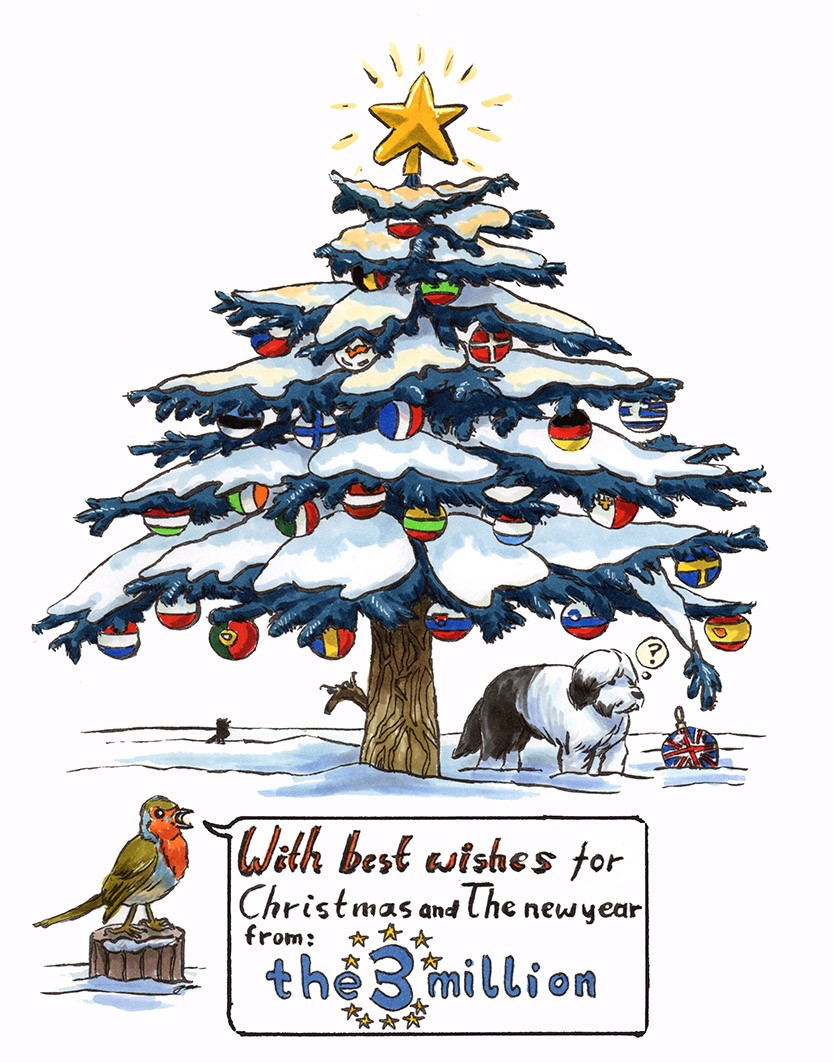 With Best Wishes For Christmas And The New Year From Everyone At