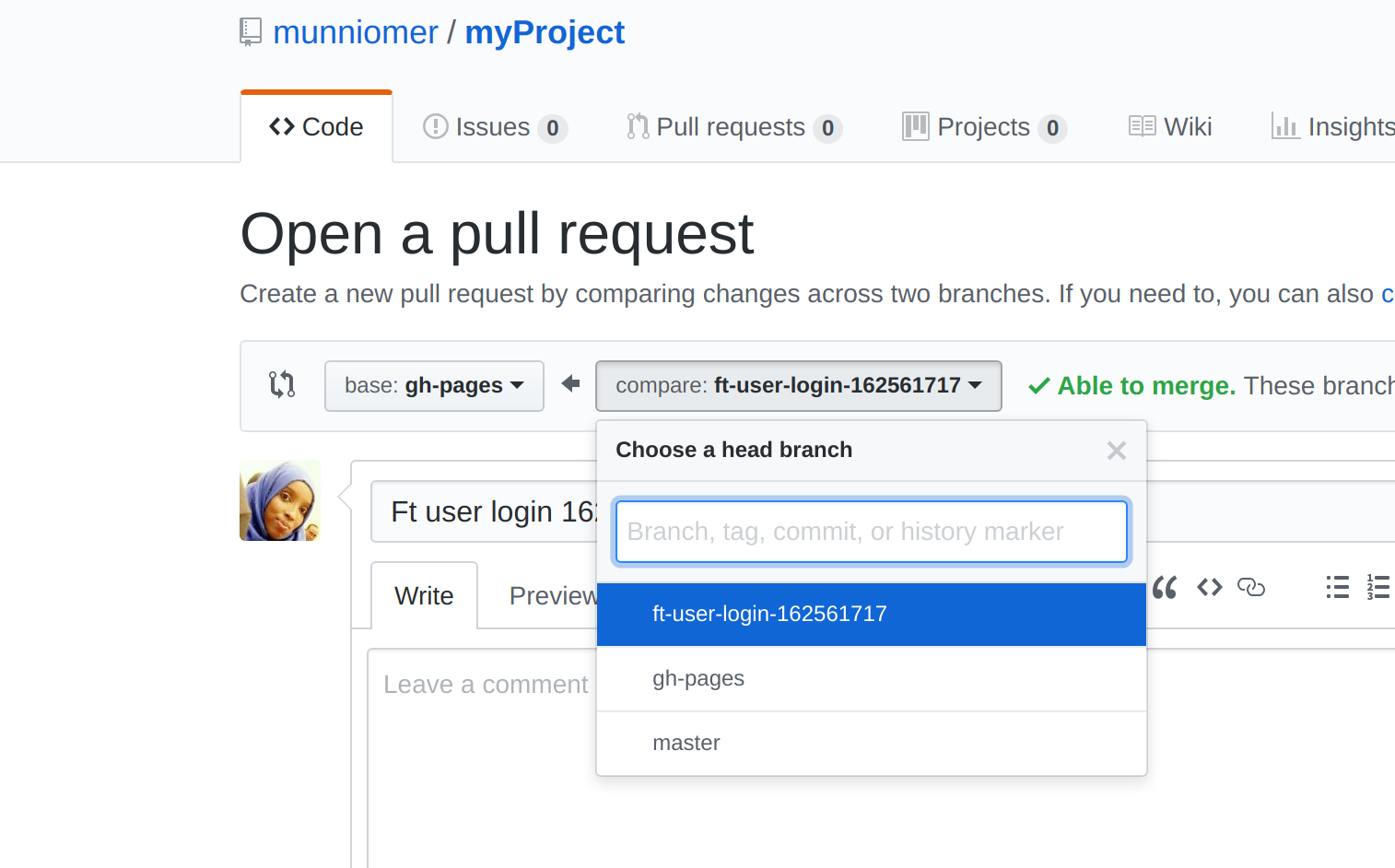 Pull request on Git and GitHub for Beginners Part III
