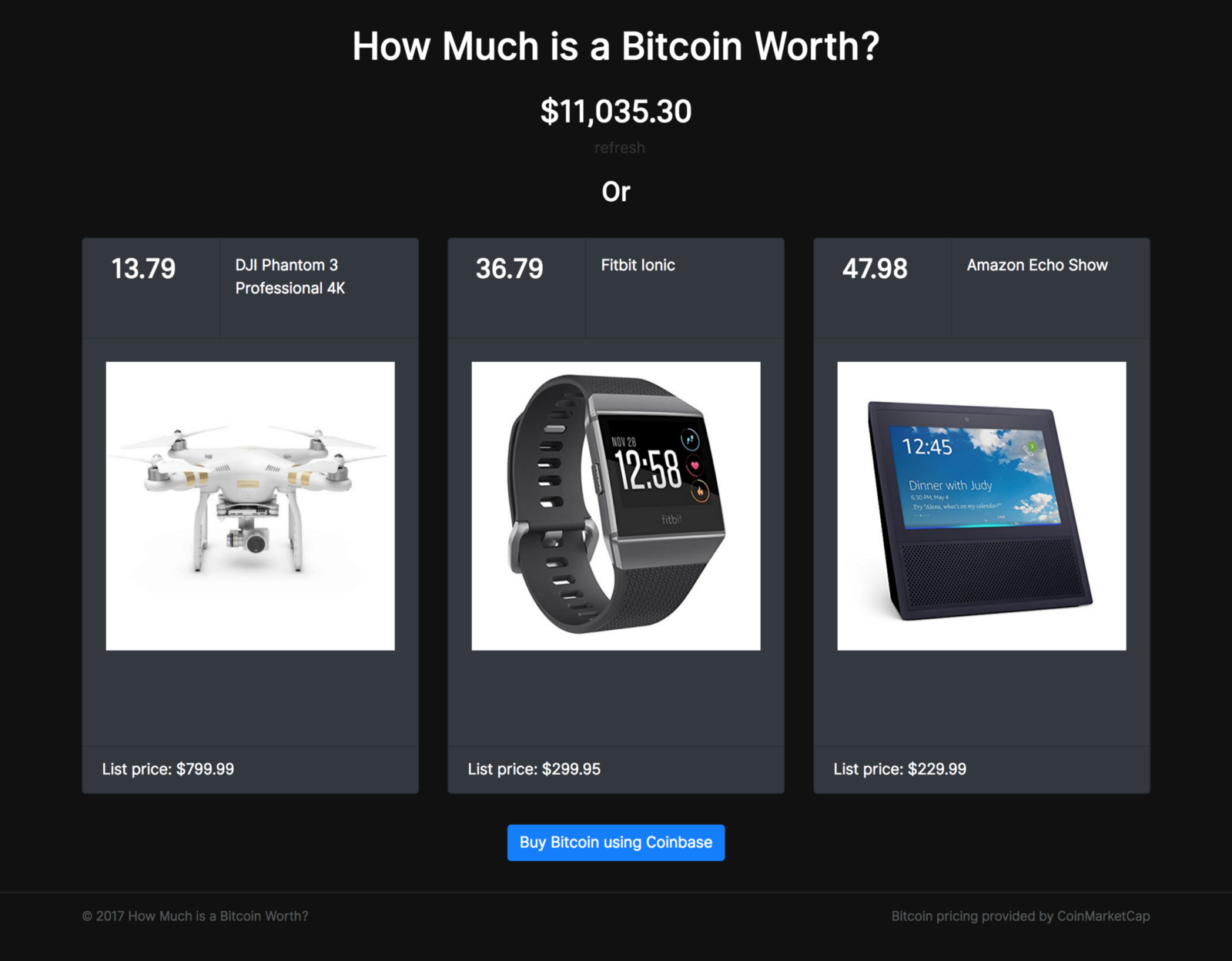 How Much is a Bitcoin Worth? – Make Side Project – Medium