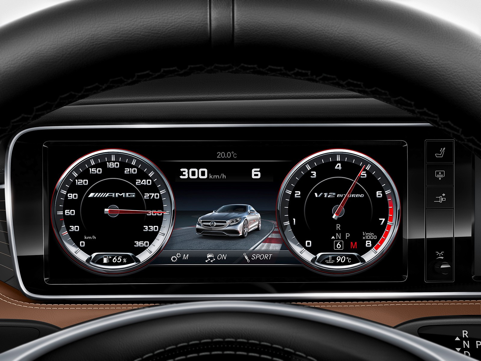 Car Dashboard Ui Collection Denys Nevozhai Medium Lexus Symbols Mercedes Benz S65 Amg Coupe 2014 Production